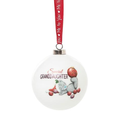 Special Granddaughter Me to You Bear Christmas Bauble  £4.99