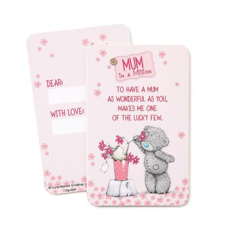 Mum In A Million Me to You Bear Keepsake Message Card  £0.99