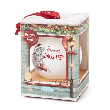 Special Daughter Me To You Bear Christmas Bauble  £4.99