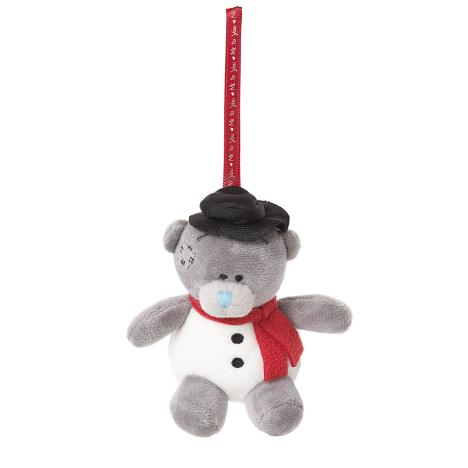 "3"" Snowman Me To You Bear Tree Decoration  £5.99"