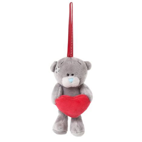"3"" Padded Heart Me To You Bear Tree Decoration  £5.99"