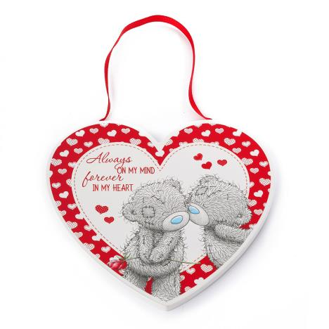 Always On My Mind Me to You Bear Heart Plaque  £3.99