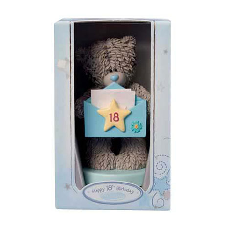Me to You Bear 18th Birthday Figurine / Cake Topper   £9.99