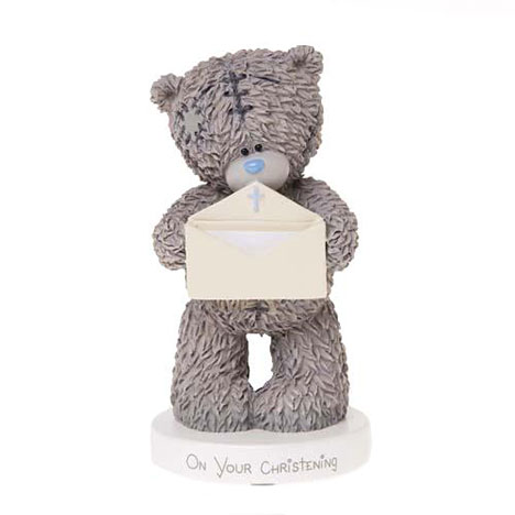 Me to You Bear Christening Message Figurine   £9.99
