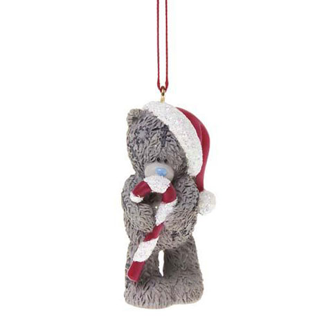 Candy Cane Me to You Bear Tree Decoration  £2.99