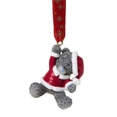 Santa Me to You Bear Christmas Tree Decoration    £3.00