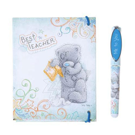 Best Teacher Me to You Bear Pen and Notepad Gift Set  £5.99