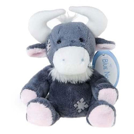 "4"" My Blue Nose Friend Noo the Wilderbeest"