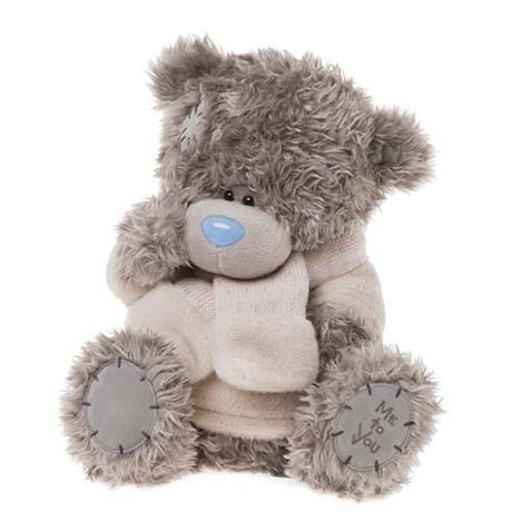 "12"" With Jumper & Scarf Me to You Bear  £24.99"