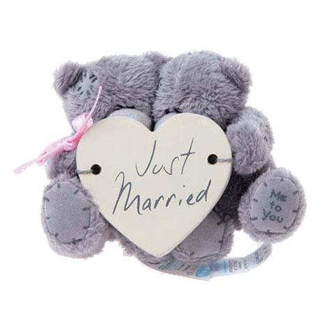 "3"" Just Married Me to You Bear with Window Sucker  £7.99"