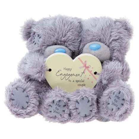 "2 x 4""Happy Engagement Me to You Bears   £12.99"