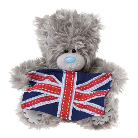 "5"" Me to You Bear Holding Union Jack Flag  £7.99"