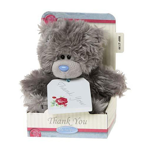 "5"" Thank You Plaque Me to You Bear  £7.99"