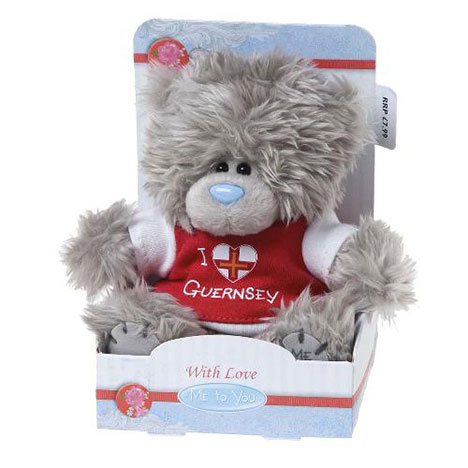 "5"" I Love Guernsey T-Shirt Me to You Bear  £7.99"