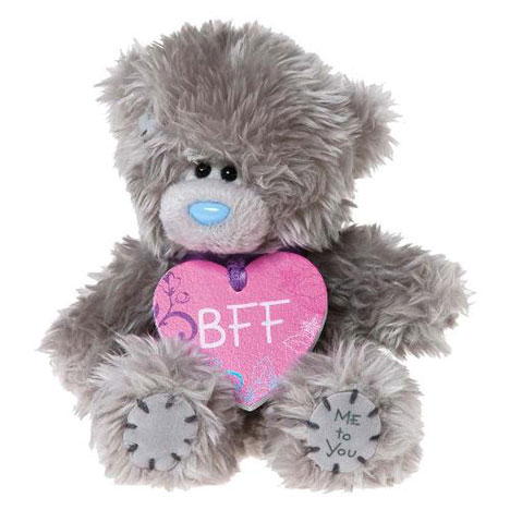"5"" BFF Heart Plaque Me to You Bear  £7.99"