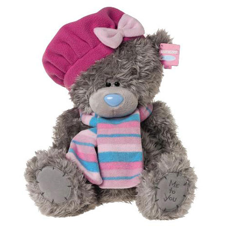 "12"" Me to You Bear with Beret & Scarf  £24.99"