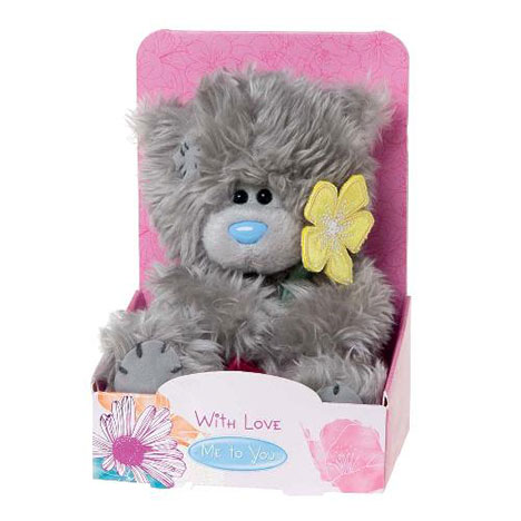 "5"" Flower & Great Mum Tag Me to You Bear  £7.99"
