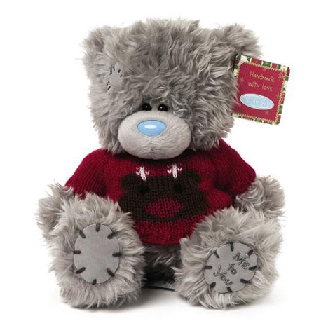 "7"" Christmas Reindeer Jumper Me to You Bear  £9.99"
