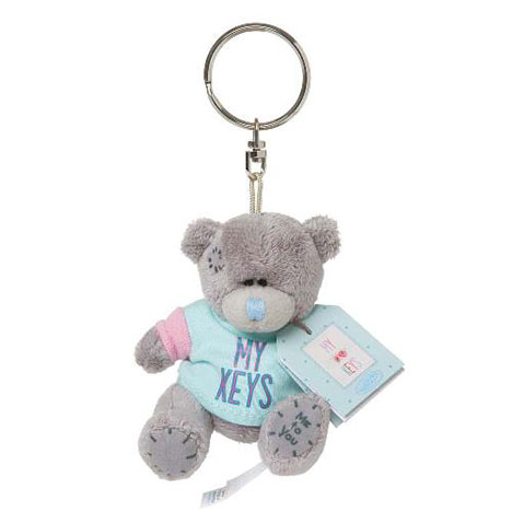 "3"" My Keys Me to You Bear Plush Keyring  £4.99"