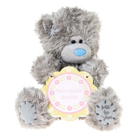 "7"" Awesome Auntie Plaque Me to You Bear   £10.00"