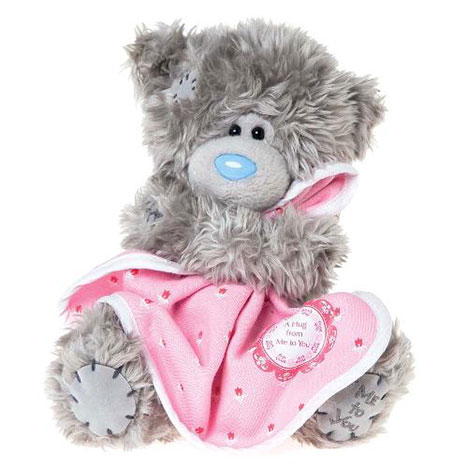 "7"" Hug From Me to You Blanket Me to You Bear   £10.00"
