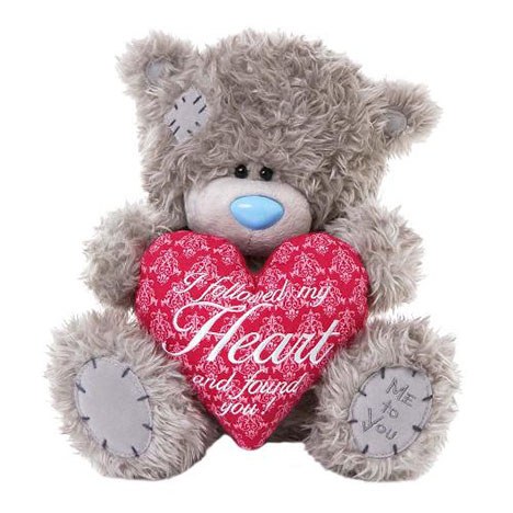 "10"" Love Verse Heart Me to You Bear   £20.00"