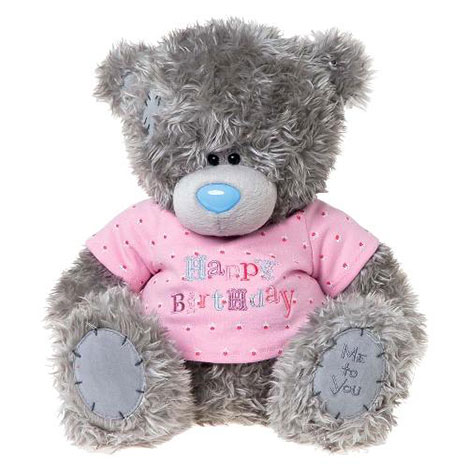 "12"" Happy Birthday T-Shirt Me to You Bear   £25.00"