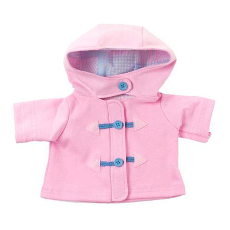 Tatty Teddy Dress Up Me to You Pink Toggle Coat  £6.00