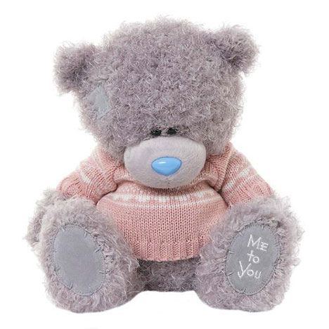 "10"" Pink Knitted Jumper Me to You Bear  £20.00"
