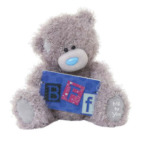 "7"" BFF Plaque Me to You Bear  £10.00"
