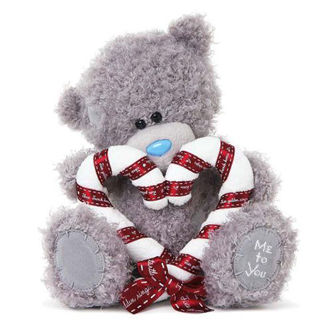 "8"" Candy Cane Heart Me to You Bear  £15.00"