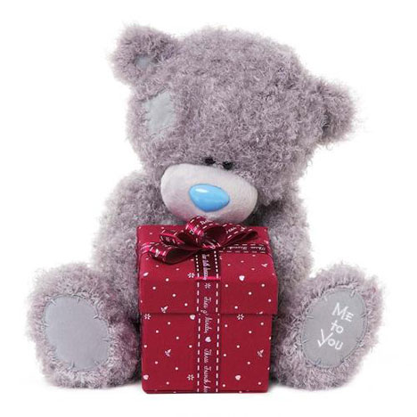 "12"" With Present Gift Box Me to You Bear   £25.00"