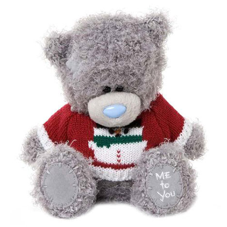 "7"" Snowman Christmas Jumper Me to You Bear   £10.00"