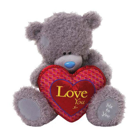 "16"" Love You Padded Heart Me to You Bear  £35.00"