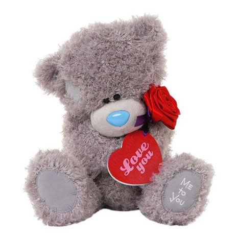 "12"" Holding Red Rose and Plaque Me to You Bear  £25.00"