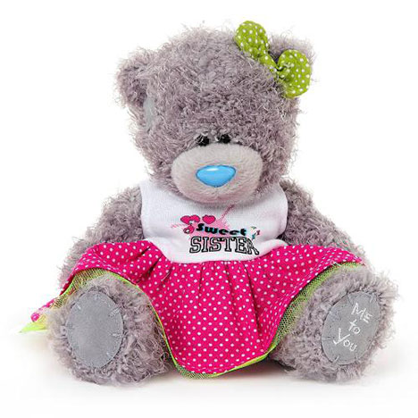 "7"" Sweet Sister Dress Me to You Bear  £10.00"