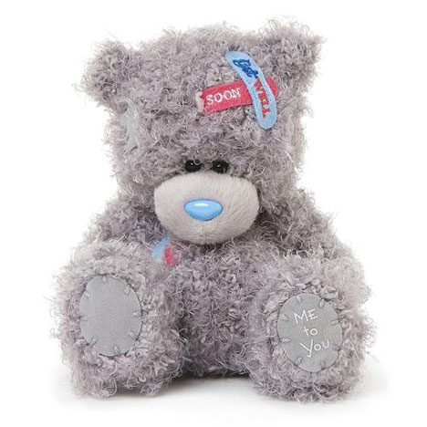 "5"" Get Well Soon Plaster Me to You Bear  £8.00"