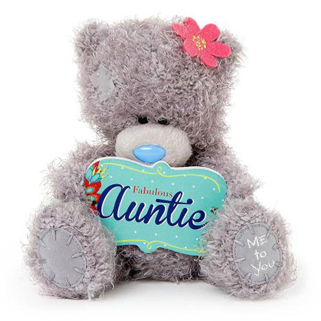 "7"" Fabulous Auntie Plaque Me to You Bear  £10.00"
