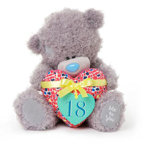 "12"" 18th Birthday Me to You Bear with Padded Heart  £25.00"