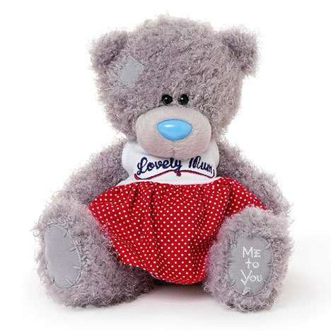 "8"" Lovely Mum Red Dress Me to You Bear  £15.00"