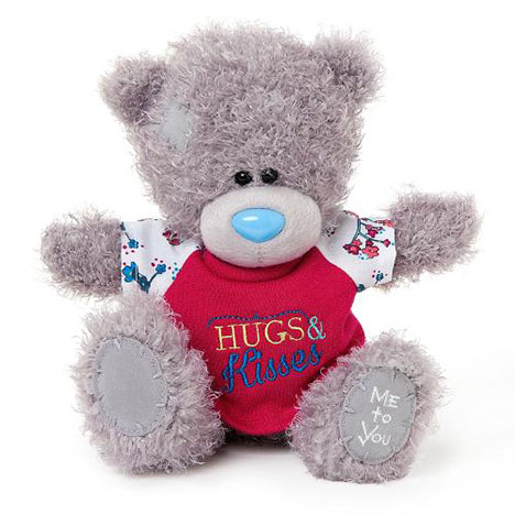 "8"" Hugs and Kisses T-shirt Me to You Bear  £15.00"
