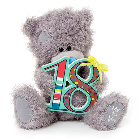 "8"" 18th Birthday Me to You Bear  £15.00"