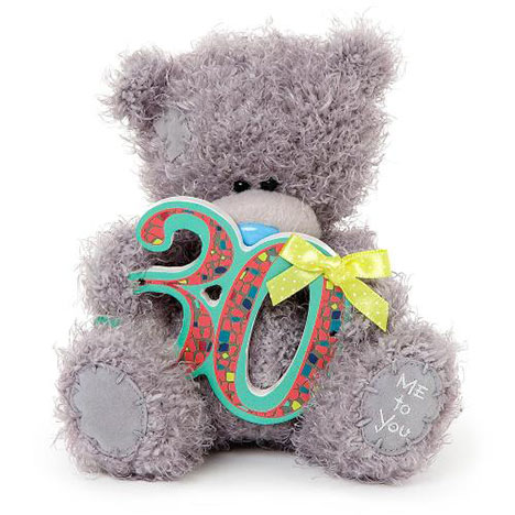 "7"" 30th Birthday Me to You Bear  £10.00"