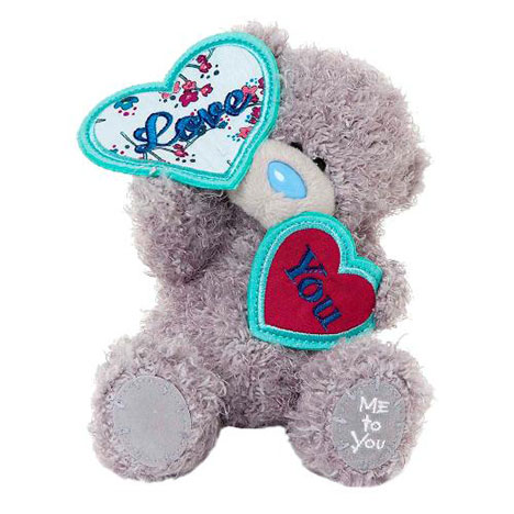 "7"" Love You Hearts Me to You Bear  £10.00"