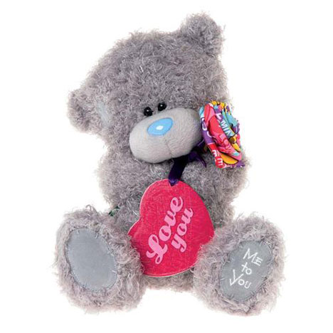 "10"" Holding Rose with Love You Plaque Me to You Bear  £20.00"
