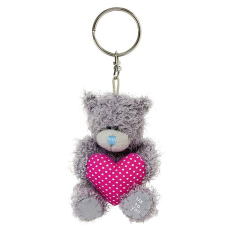 "3"" Padded Heart Me to You Bear Keyring  £5.00"