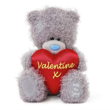 "7"" Valentine Padded Heart Me to You Bear  £10.00"