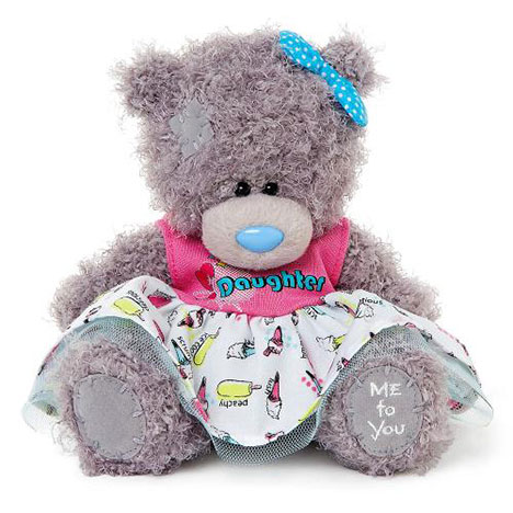 "7"" Daughter Dress Me to You Bear   £10.00"