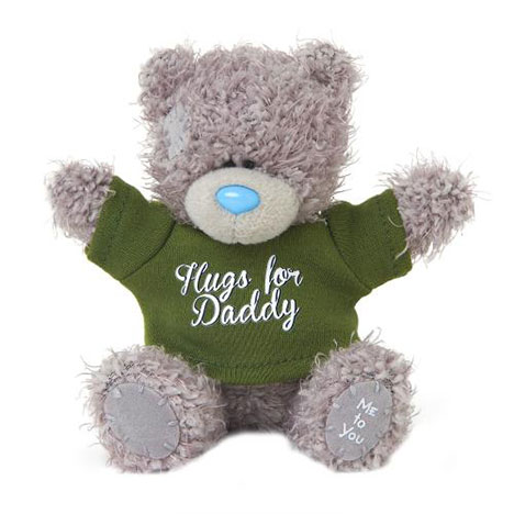 "4"" Hugs for Daddy Me to You Bear   £6.00"
