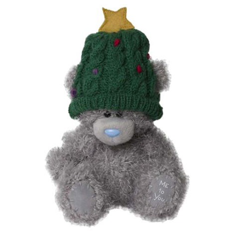 "5"" Wearing Christmas Tree Hat Me to You Bear  £8.00"